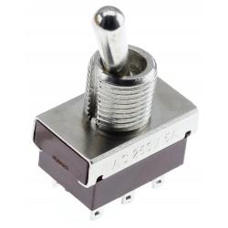 Interrupteur à Bascule 2 Pôles 2 Positions 2NO2NC DPDT 250V 2A / 120V 5A Rouge
