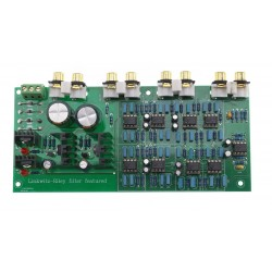 Divider crossover Linkwitz-Riley filter Module 2200Hz -24dB/Oct Class-A 3 channels