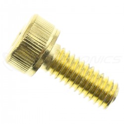 TCHC Screws Cylindrical Head BTR M3x8mm Gold (x10)