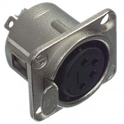 Neutrik NC4FDL1 4-pole female connector