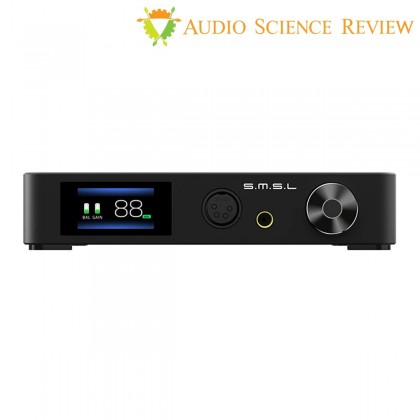 SMSL SP400 Balanced Headphone Amplifier THX AAA-888 MQA