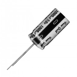 NICHICON UFG1E221MPM Audio Electrolytic Capacitor 25V 220µF