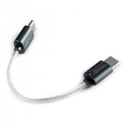 DD TC05 USB-C Cable OTG Silver Plated OCC Copper 8cm