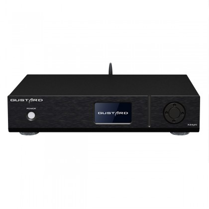 GUSTARD X26 Balanced DAC 2x ES9038Pro GPLL-M1 32Bit 768kHz DSD512 Noir