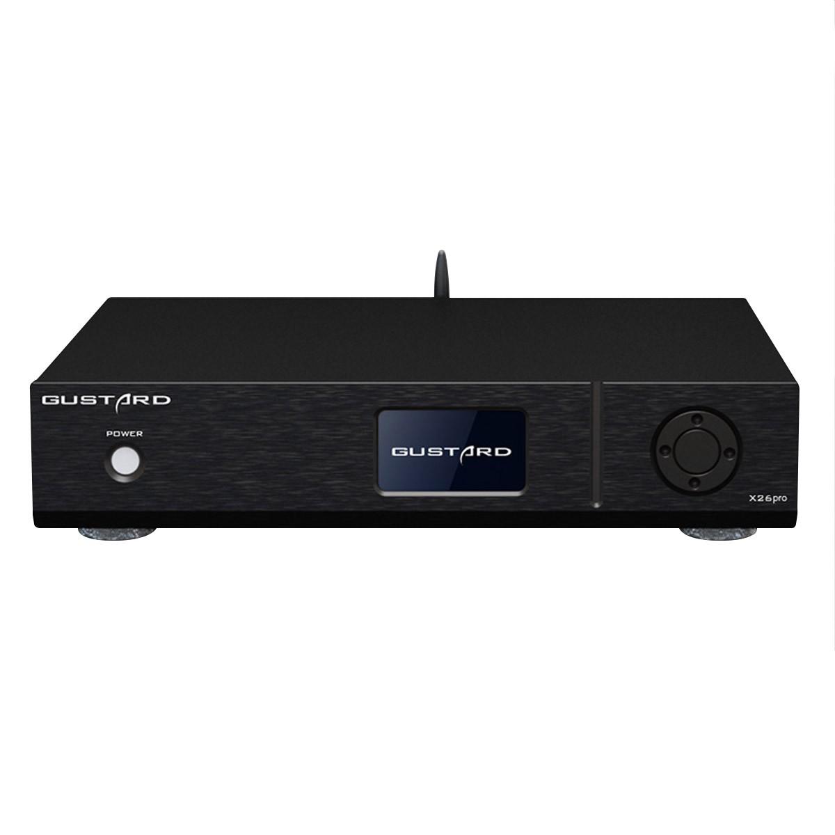 GUSTARD X26 PRO DAC Symétrique 2x ES9038Pro XMOS Bluetooth 5.0 MQA 32Bit 768kHz DSD512 Noir