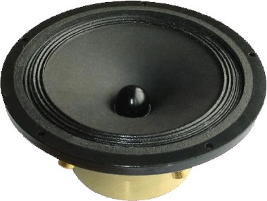 SUPRAVOX 165 GMF Haut-Parleur Bas Médium 35W 8 Ohm 96dB 60Hz - 10kHz Ø16cm