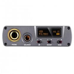 XDUOO XD05 BAL Portable Balanced Headphone Amplifier 2x ES9038Q2M XMOS Bluetooth 5.0 32bit 768kHz DSD512 Silver