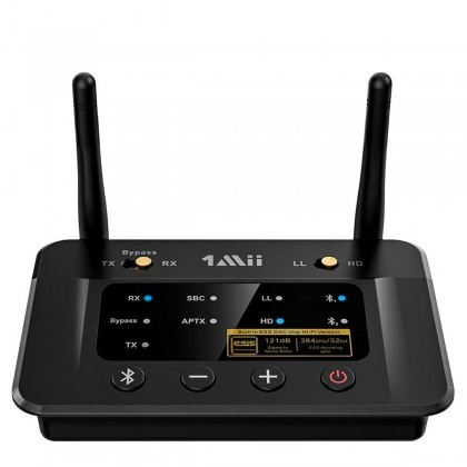 1MII B03PRO Receiver Transmitter Bluetooth 5.0 aptX HD CSR8675 ES9018