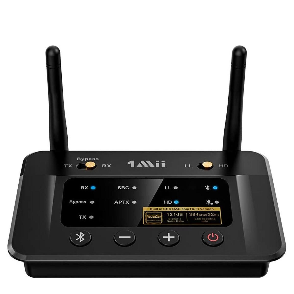 1MII B03PRO Receiver Transmitter Bluetooth 5.0 aptX HD CSR8675 ADC DAC ES9018