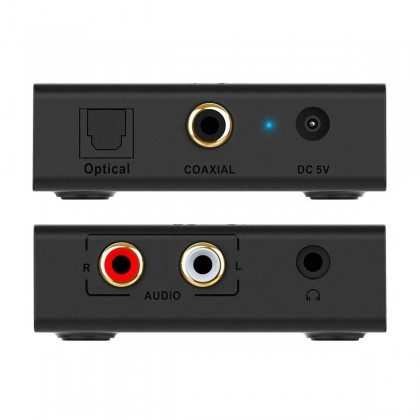 1MII RT909 DAC Coaxial Optical Toslink 24bit 192khz