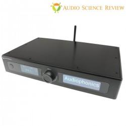 AUDIOPHONICS EVO DAC Kit DIY DAC 2xES9038Q2M Fully Balanced & Streamer for Raspberry Pi 4