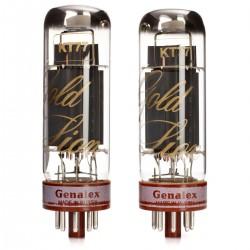 GENALEX GOLD LION KT77 Tubes Platinum (Paire appairée)