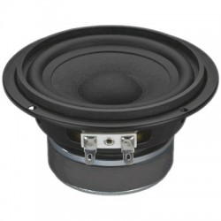 MONACOR SPM-116/8 Speaker Driver Full Range Paper 40W 8 Ohm 87dB 75Hz - 18kHz Ø11.5cm