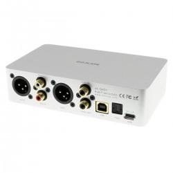 SONCOZ LA-QXD1 DAC Symétrique Double ES9038Q2M 32-bit 768kHz / DSD512 XMOS Noir