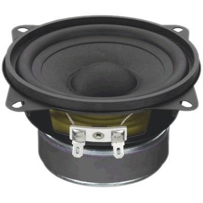 MONACOR SPM-100/8 Speaker Driver Full Range Paper 40W 8 Ohm 86dB 75Hz - 18kHz Ø 10.2cm