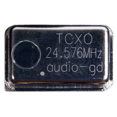 AUDIO-GD TCXO Horloge Ultra Low Jitter clock 24.576MHz