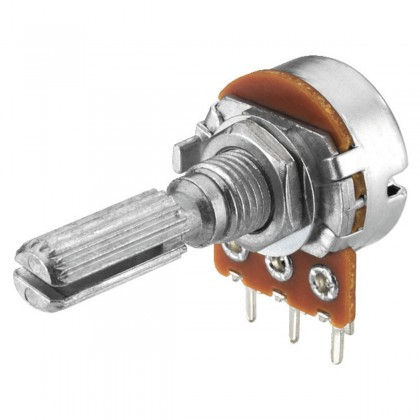 Potentiomètre mono VRB-101M10 10k ohm point central