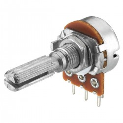 Potentiomètre mono VRB-101M50 50k ohm point central