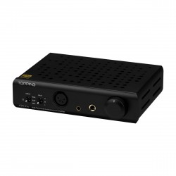 TOPPING A30 PRO Balanced Headphone Amplifier Black