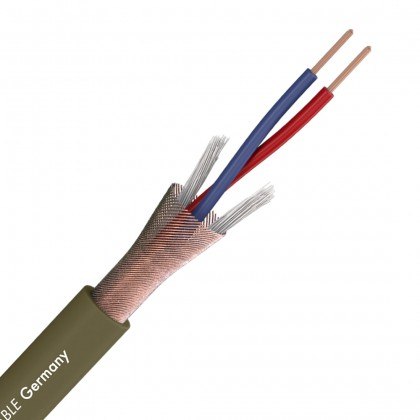 SOMMERCABLE CAPTAIN FLEXIBLE Câble de modulation Symétrique blindé OFC 2x0.22mm² Ø 6.5mm