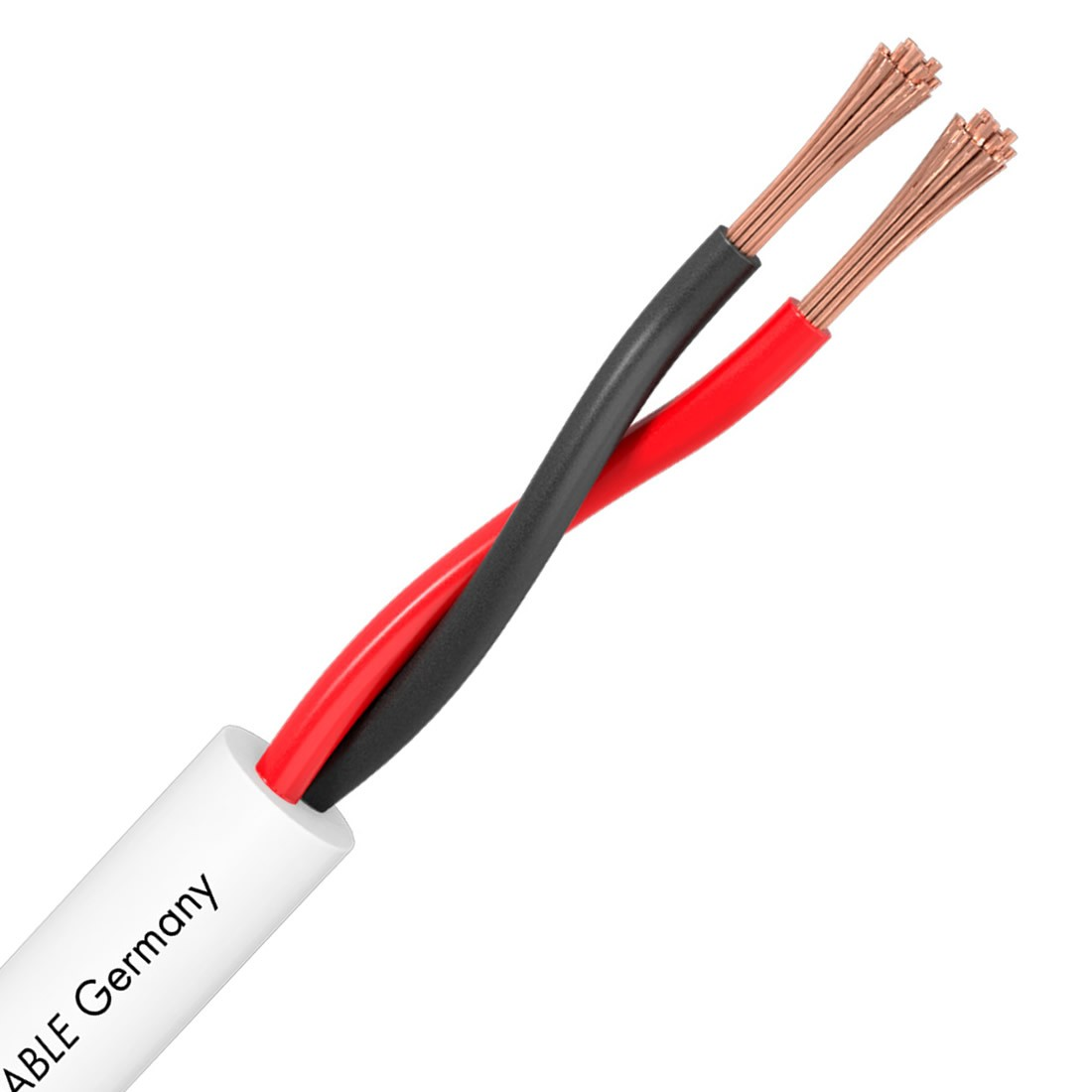 SOMMERCABLE MERIDIAN SP225 Speaker cable OFC 2x2.5mm² Ø 7.8mm