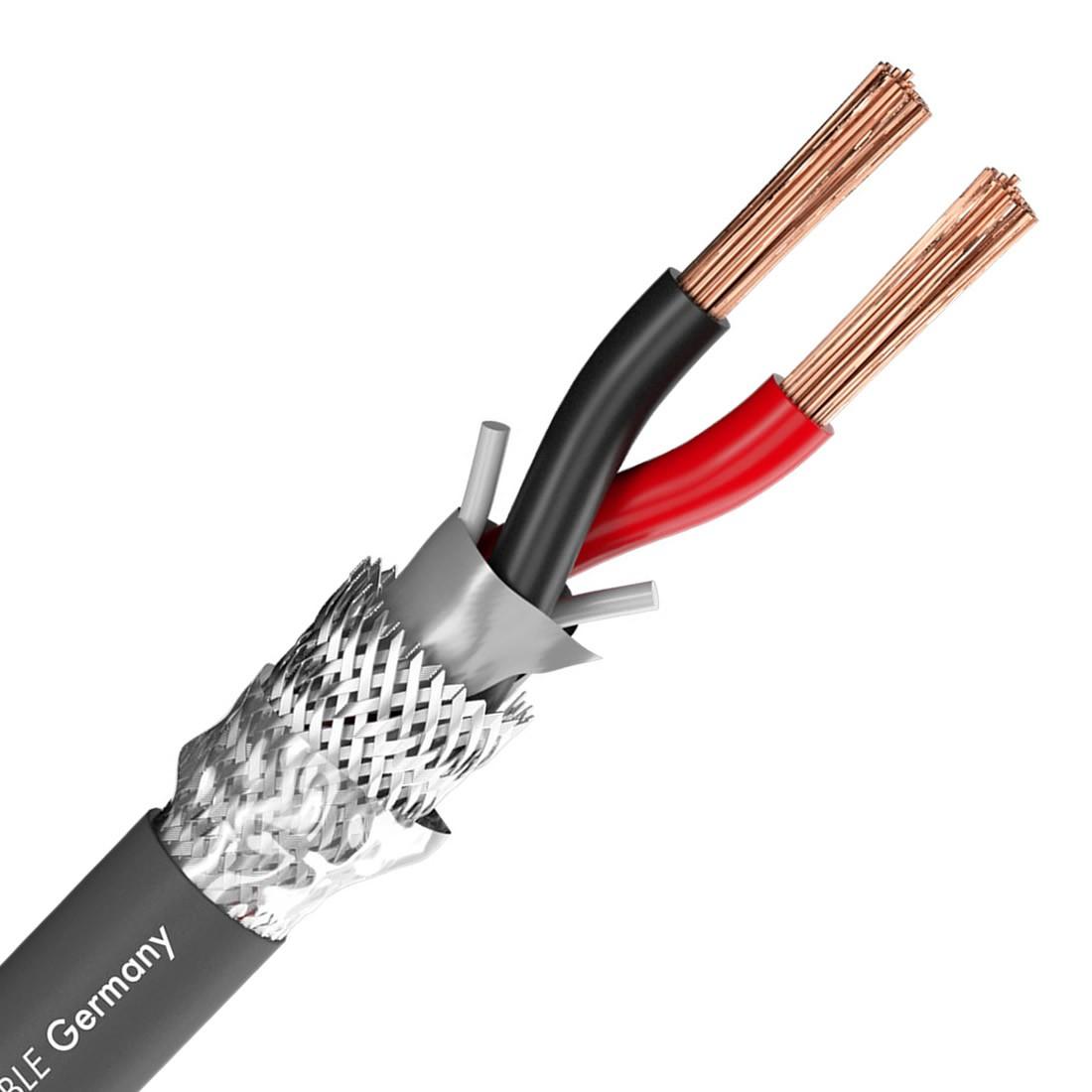 SOMMERCABLE MERIDIAN SP240 FG Câble OFC FRNC Blindé 2x4mm² Ø10mm