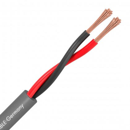 SOMMERCABLE MERIDIAN SP215 Câble HP Cuivre OFC 2x1.5mm² Ø8.0mm