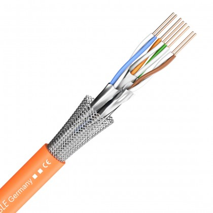 SOMMERCABLE MERCATOR CAT7 Câble Ethernet OFC 4x2x0,56mm² Ø7.0mm