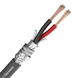 SOMMERCABLE MERIDIAN SP215 FG Câble HP OFC Blindé 2x1.5mm² Ø8mm