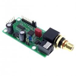 Interface Numérique AK4118 I2S / Optique / Coaxial vers I2S 24bit 192kHz