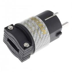 NEOTECH NC-P312RH Connecteur Schuko UP-OCC plaqué Or Ø 16mm