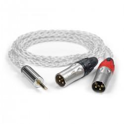 IFI AUDIO Câble Symétrique Jack 4.4mm Mâle vers 2x XLR Mâles 1m