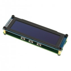 OLED display 21 bands and potentiometer