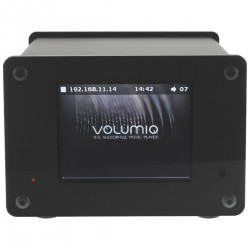 AUDIOPHONICS RASPDAC MINI LCD Kit DIY Streamer for Raspberry Pi 4 & DAC ES9038Q2M
