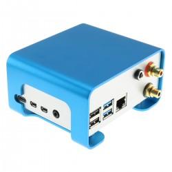 ALLO BOSS2 DAC CS43198 32bit 384kHz DSD256 avec Boîtier Aluminium et Raspberry Pi 4