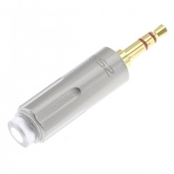 Male RCA Connectors Gold Plated Ø6mm (Pair)