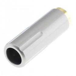Connecteur Jack 3.5mm Femelle Plaqué Or Ø6mm