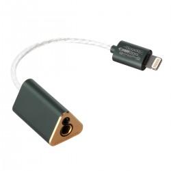 DD TC44B Adaptateur DAC Amplificateur Casque Symétrique Lightning Hi-Res 2x CS43131