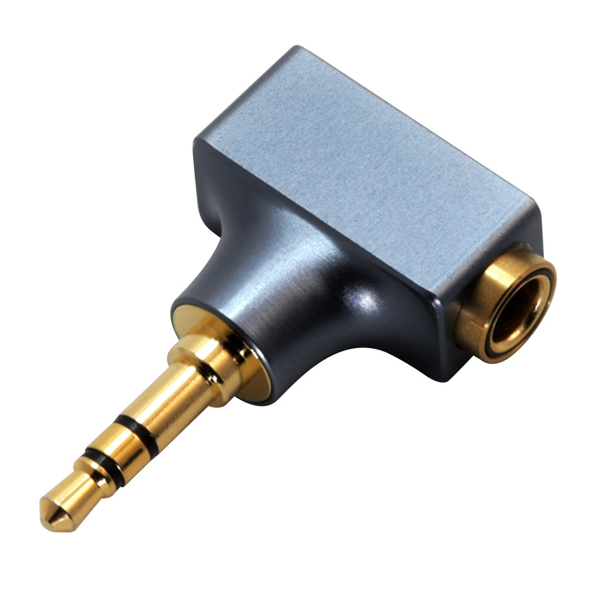 DD DJ44C MKII Female Balanced Jack 4.4mm to Male Single-Ended Jack 3.5mm Adapter Gold Plated