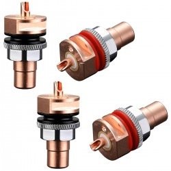 VIBORG RC-101 RCA Plugs Pure Copper (Set x4)