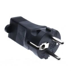 AC adapter US NEMA 5-15P to SCHUKO FR