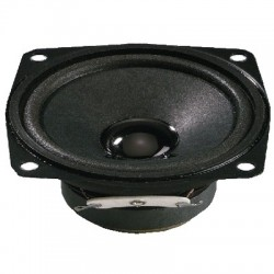 MONACOR SP-7/4SQ Speaker Driver Full Range Universal 4W 4 Ohm