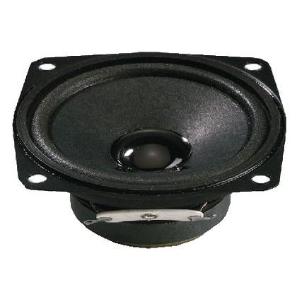 MONACOR SP-7/4SQ Haut-parleur Universel