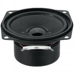 MONACOR SP-7/4SQS Speaker Driver Full Range Shielded Universal 4W 4 Ohm