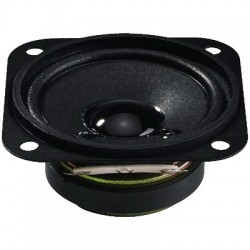 MONACOR SP-6/4SQ Speaker Driver Full Range Universal 3W 4 Ohm