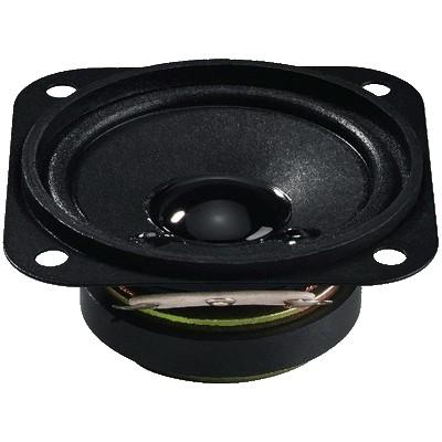 MONACOR SP-6/4SQ Speaker Driver Full Range Universal 3W 4 Ohm