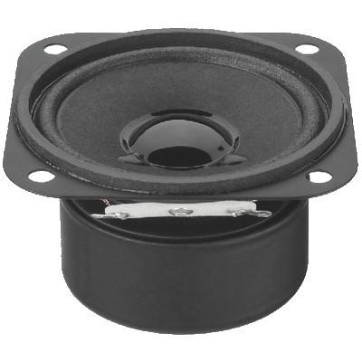 MONACOR SP-6 / 4SQS Speaker Driver Full Range Shielded Universal 3W 4 Ohm