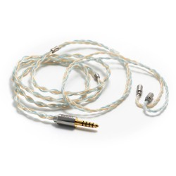 DD BC120B Headset cable Jack 4.4mm to MMCX Balanced Copper OCC Silver Platedt 1.2m