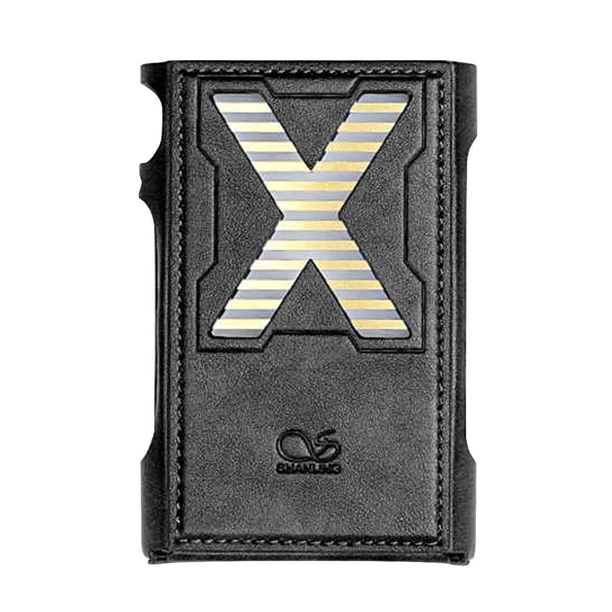 SHANLING Housse de Protection Cuir Noir pour DAP Shanling M3X