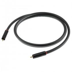AUDIOPHONICS STEALTH Câble de Modulation Stéréo RCA-RCA Cuivre OFC ELECAUDIO 0.75m (La paire)
